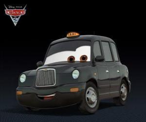 Chauncy fares tipik siyah londra taksi