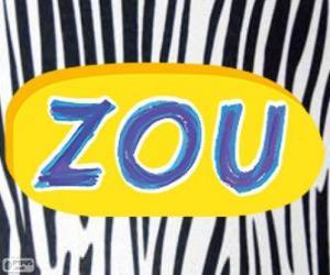 Zou Zebra Logo